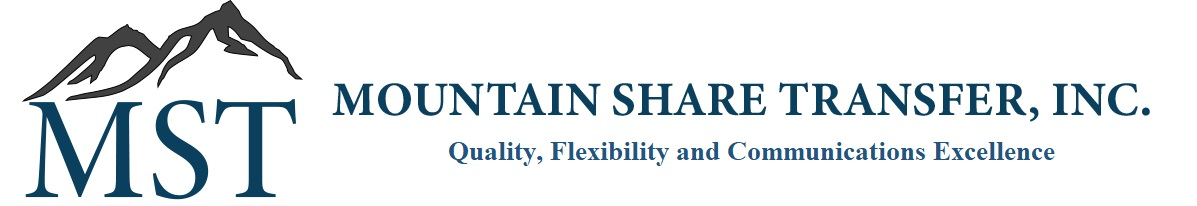 Mountain Share Transfer, Inc.